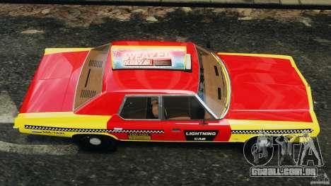 Dodge Monaco 1974 Taxi v1.0 para GTA 4 vista direita