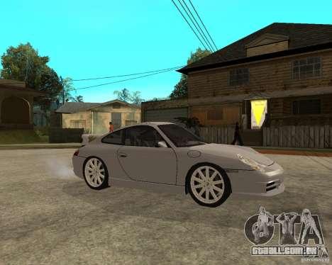 Porsche GT3 para GTA San Andreas vista direita
