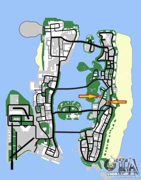 Windsurf para GTA Vice City vista direita