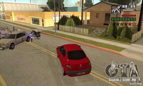 Conduziu a uma estrela vermelha-get para GTA San Andreas por diante tela