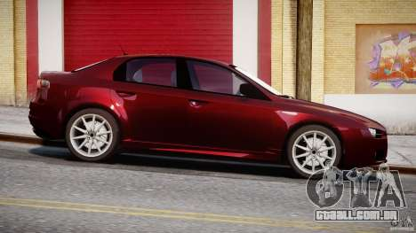 Alfa Romeo 159 Li para GTA 4 esquerda vista