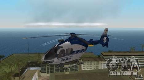Eurocopter Ec-135 Politia Romana para GTA Vice City deixou vista