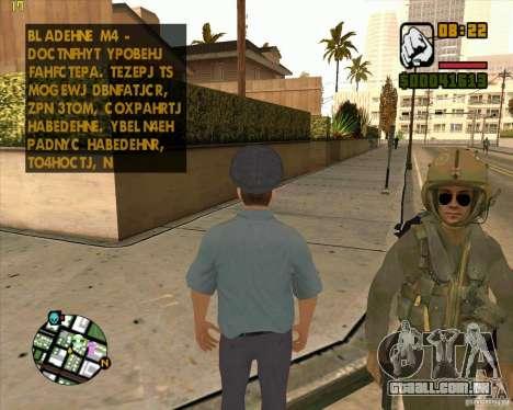 Pele polícia russa para GTA San Andreas segunda tela
