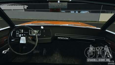 Dodge Dart GTS 1969 para GTA 4 vista de volta