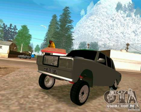 VAZ 2107 completo para GTA San Andreas