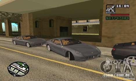Ferrari 612 Scaglietti 2005 para GTA San Andreas