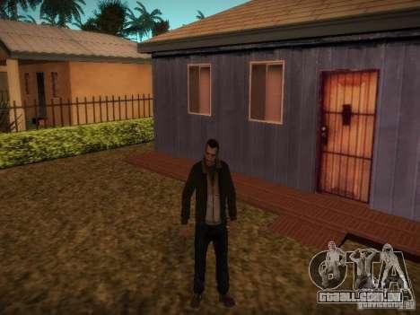 Novas histórias de Niko Bellis para GTA San Andreas por diante tela