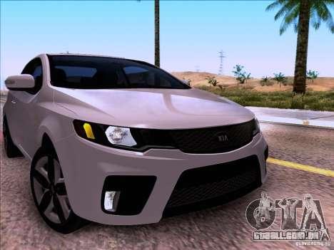 Kia Forte Koup SX para GTA San Andreas vista direita
