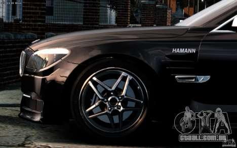 Telas de menu e arranque BMW HAMANN no GTA 4 para GTA San Andreas segunda tela