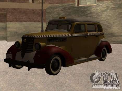 Shubert táxi de MAFIA 2 para GTA San Andreas