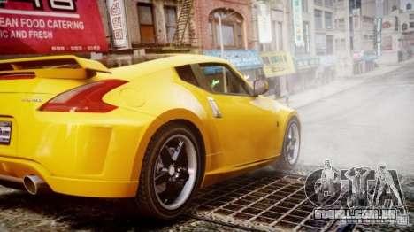 Nissan 370Z Final para GTA 4 esquerda vista