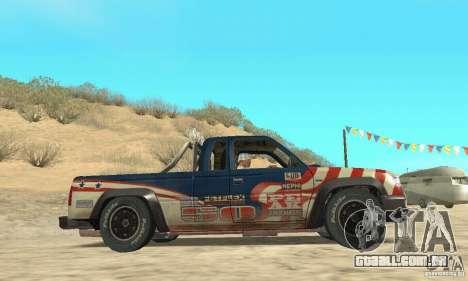 Nevada v1.0 FlatOut 2 para GTA San Andreas vista direita