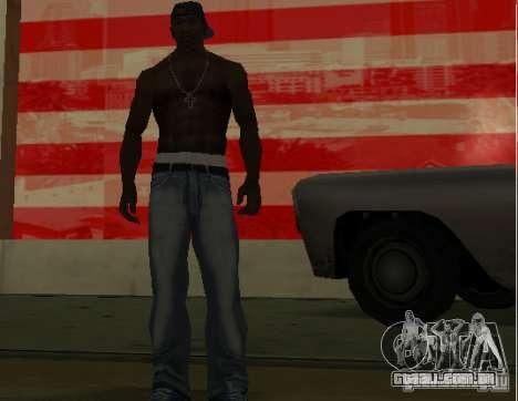 Novo jeans para CJ para GTA San Andreas terceira tela