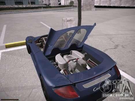 Porsche Carrera GT para GTA San Andreas vista traseira