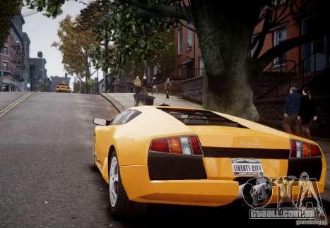Lamborghini Murcielago para GTA 4 vista direita