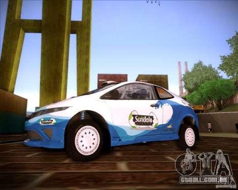Honda Civic Type-R (Rally team) para GTA San Andreas