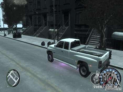 Dodge Ram 3500 para GTA 4 vista direita
