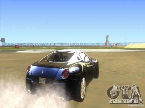 Ferrari 599 GTB Fiorano para GTA San Andreas vista direita