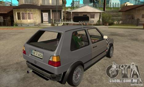 VW Golf Mk2 GTI para GTA San Andreas vista direita