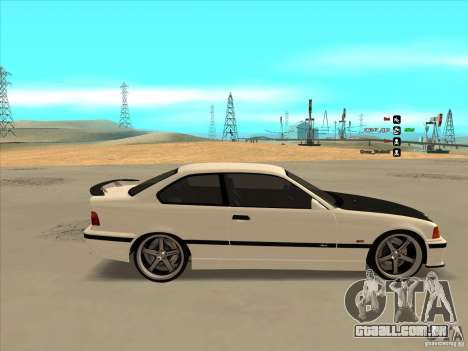 BMW M3 E36 para GTA San Andreas vista interior