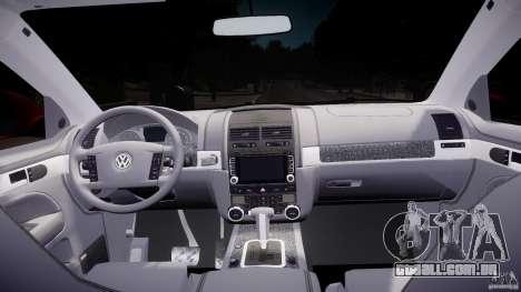 Volkswagen Touareg R50 2008 Tune (Beta) para GTA 4 vista direita