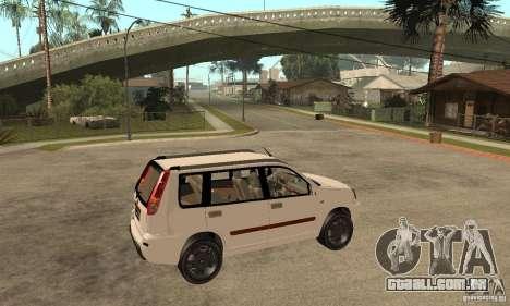 Nissan X-Trail para GTA San Andreas vista direita