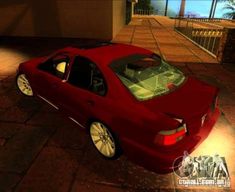 BMW M5 E39 para vista lateral GTA San Andreas