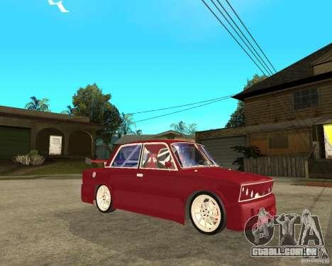 Senhor VAZ 2106 para GTA San Andreas vista direita
