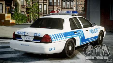 Ford Crown Victoria CVPI-V4.4M [ELS] para GTA 4 vista interior