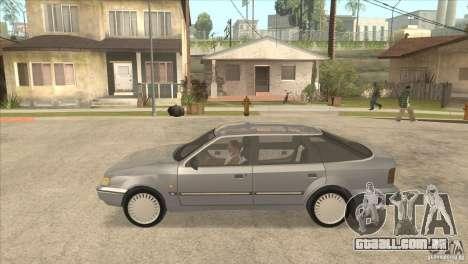 Ford Scorpio para GTA San Andreas traseira esquerda vista