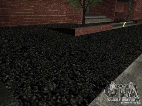 Novo hospital de texturas para GTA San Andreas quinto tela