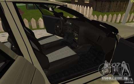 VAZ-21103 para GTA San Andreas vista superior
