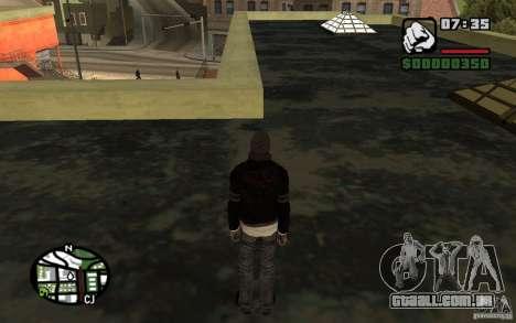 Alex Mercer v2.0 para GTA San Andreas por diante tela