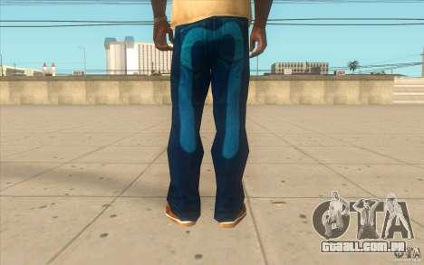 Remix-Evisu-Joker-Burberry Hose para GTA San Andreas terceira tela