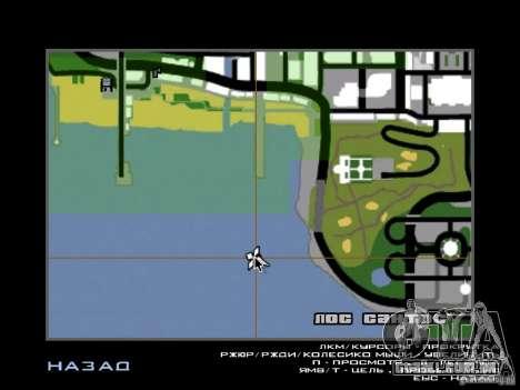 La villa de la noche beta 1 para GTA San Andreas terceira tela