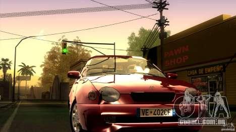 Toyota Corolla G6 Compact E110 EU para GTA San Andreas vista traseira
