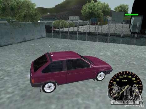 VAZ 2108 clássico para GTA San Andreas esquerda vista