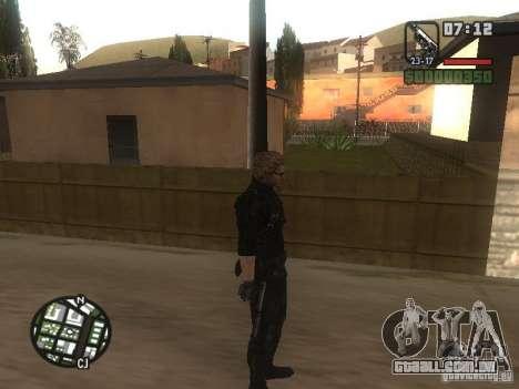 Wesker de RE5 para GTA San Andreas por diante tela