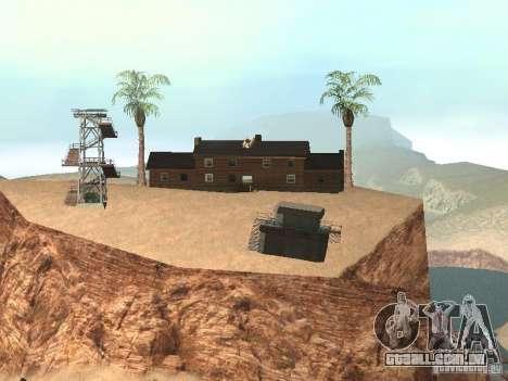Casa de campo para GTA San Andreas