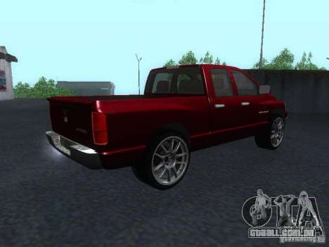 Dodge Ram 1500 v2 para GTA San Andreas esquerda vista