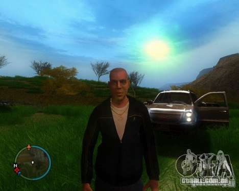 Project Reality mod beta 2.4 para GTA San Andreas por diante tela