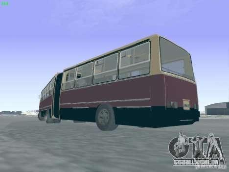 Trailer de Ikarus 280.03 para GTA San Andreas vista traseira