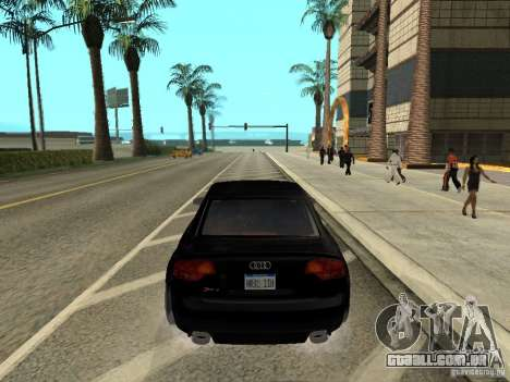 Audi RS 4 para GTA San Andreas esquerda vista