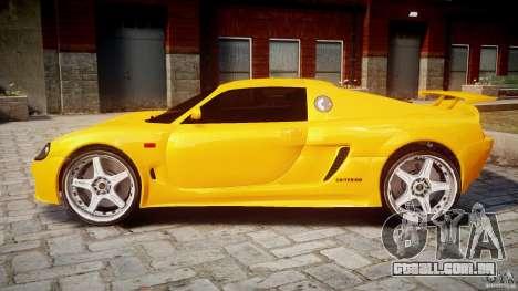 Watson R-Turbo Roadster para GTA 4 esquerda vista