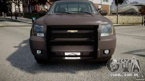 Chevrolet Tahoe Indonesia Police para GTA 4 vista lateral