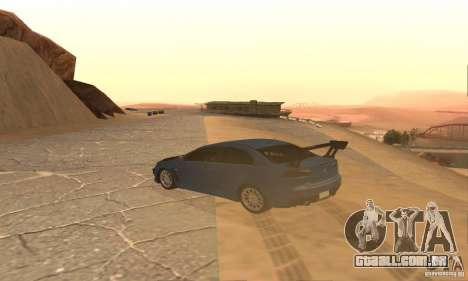 New Drift Zone para GTA San Andreas quinto tela