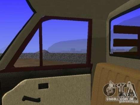Mazda Familia 800 Pickup para vista lateral GTA San Andreas