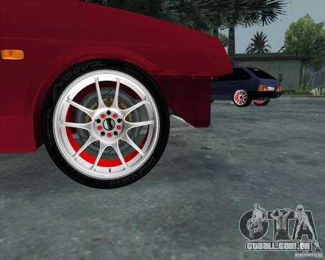 VAZ 2109 Drift para GTA San Andreas vista direita