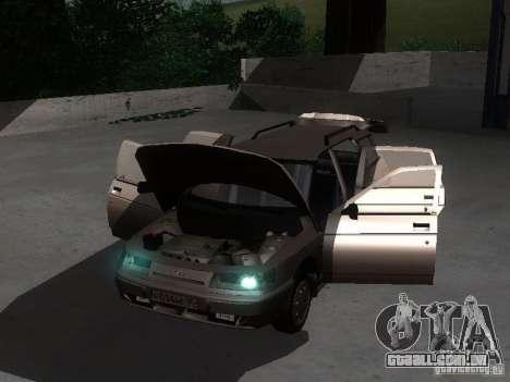 VAZ 21114 para GTA San Andreas vista interior