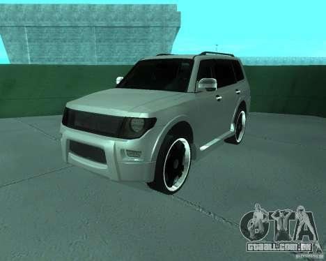 Mitsubishi Pajero STR I para GTA San Andreas